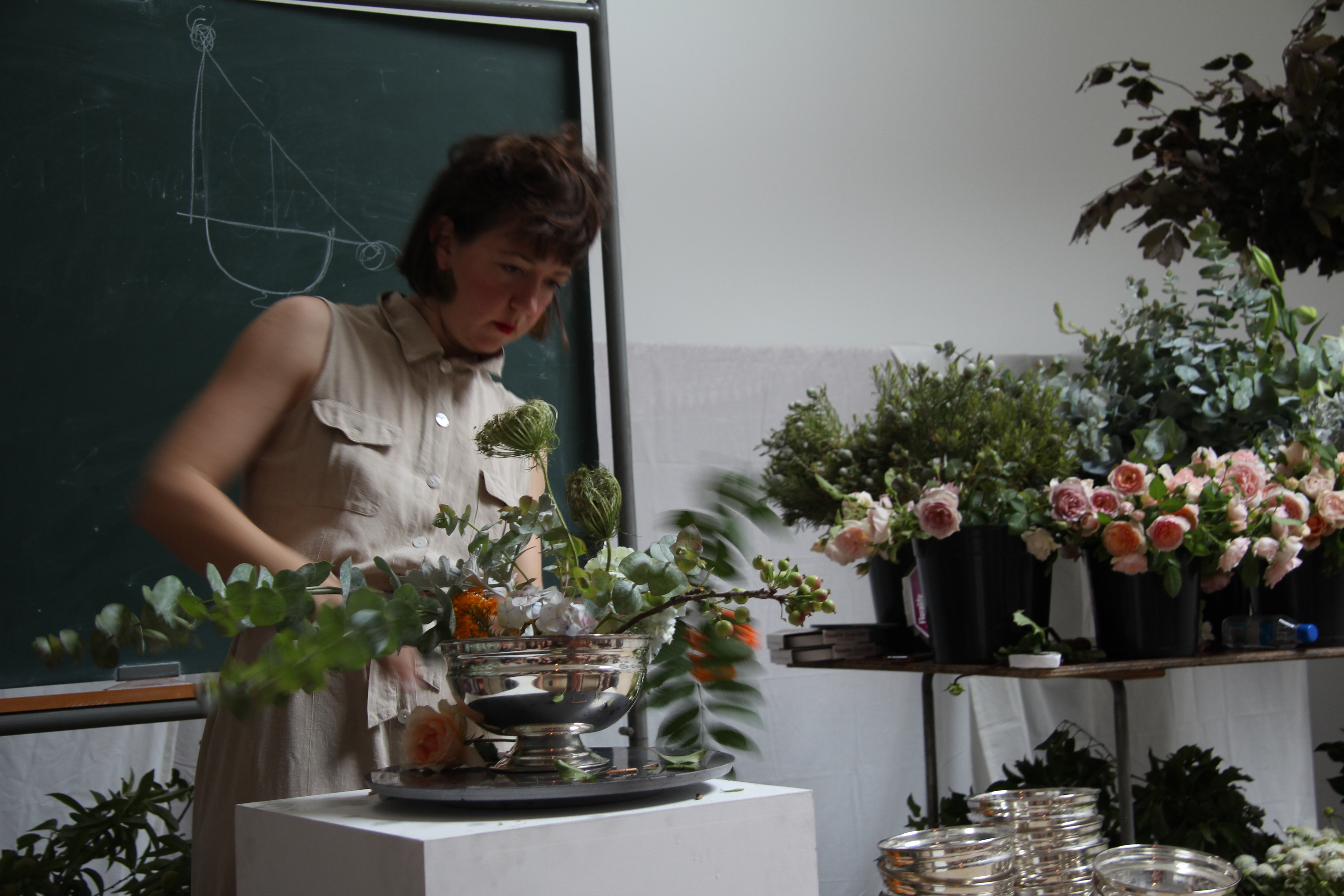 Flower demonstration