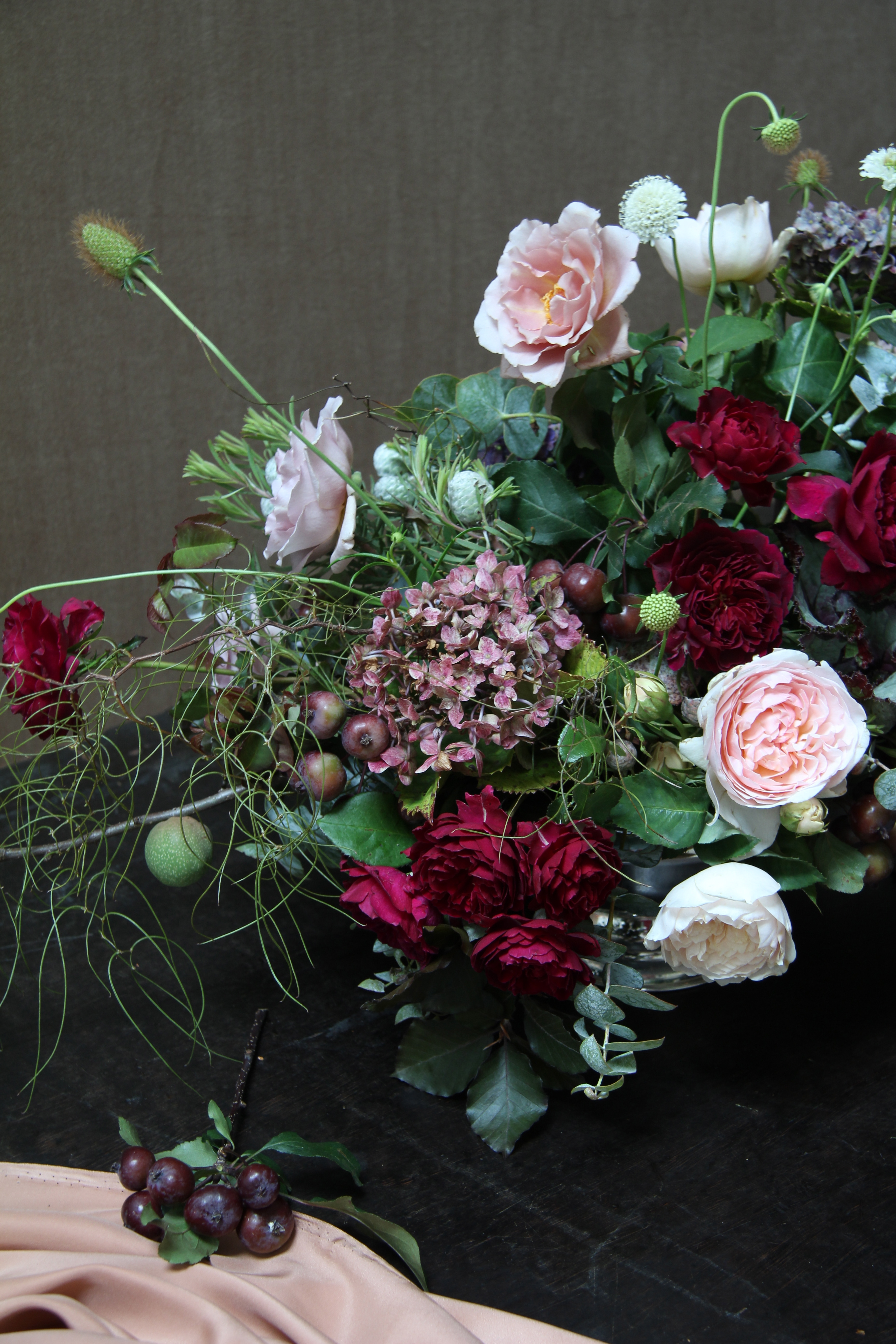 Heiress romantic flowers