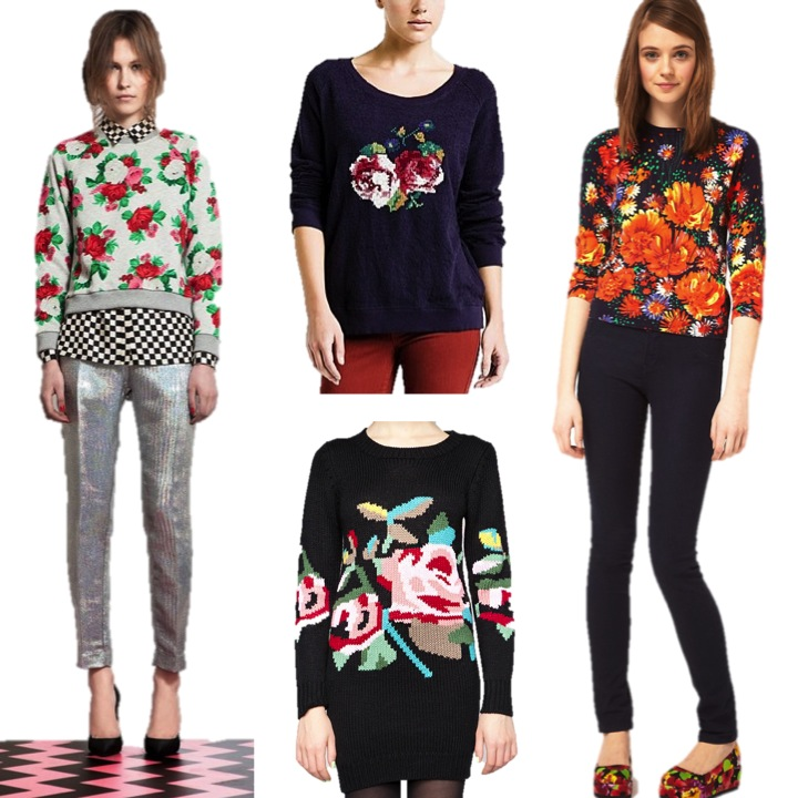 floral jumpers
